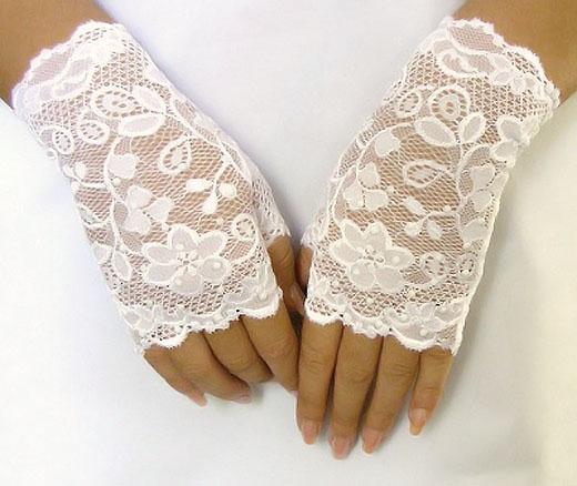 Свадебные митенки - перчатки
