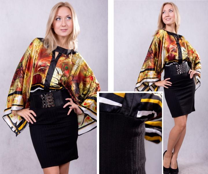 Модные блузки в японском стиле
