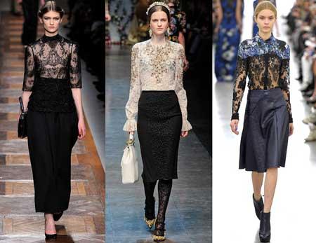 Цвет модных блузок 2016