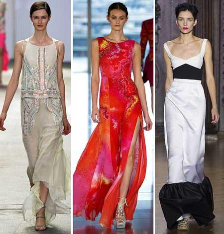 платья 2016: максимальной длинны