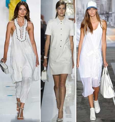 Летние белые платья 2016