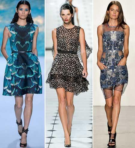 Материал для летнего платья