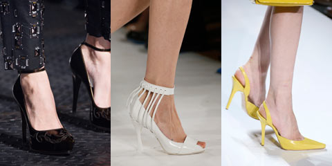 Туфли на высоком каблуке 2016