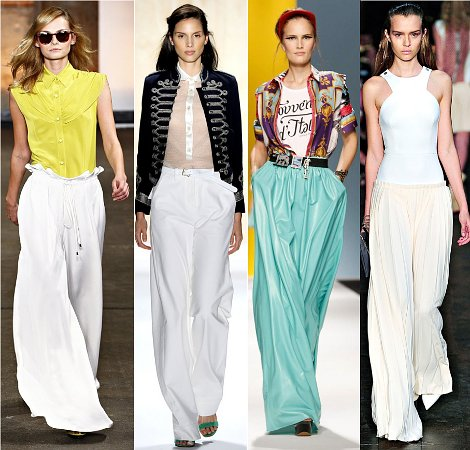 Материал летних брюк