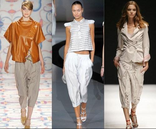 фасоны и стилистические направления брюк