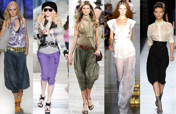 С чем носить летние брюки