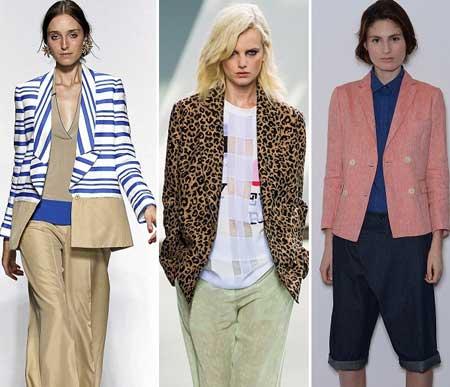 Пиджаки и жакеты классического типа