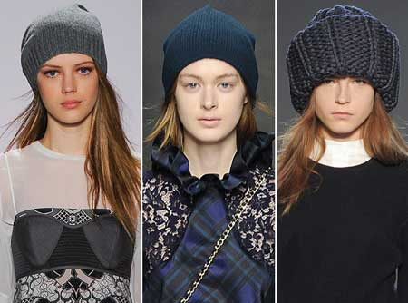 модные вязаные шапки 2015 2016