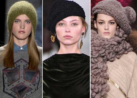 вязаные шапки 2013-2014