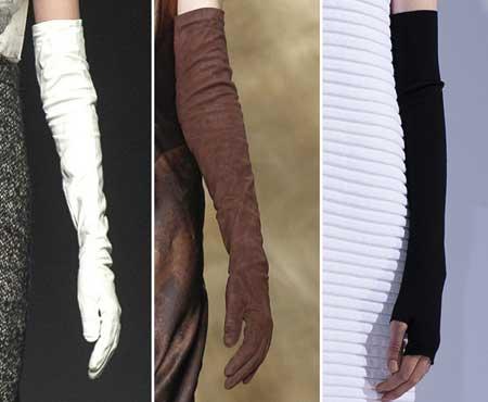 Длина модных перчаток 2016 -1