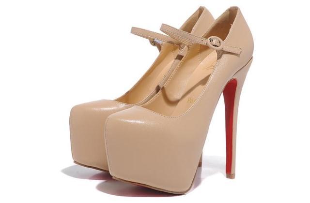 с чем носить бежевые туфли
