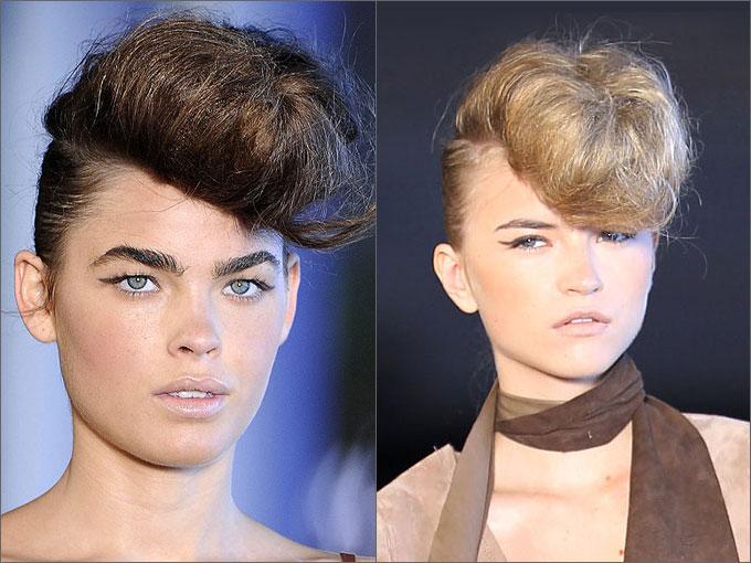 нарядные прически на средние волосы