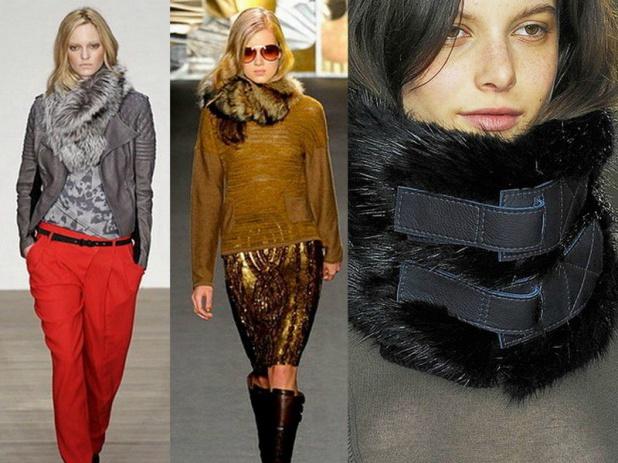 модные шарфы 2014 2015