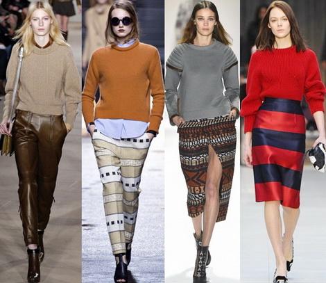 модные свитера 2015 2016
