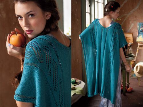 Модные и красивые вязаные платья фото - 1