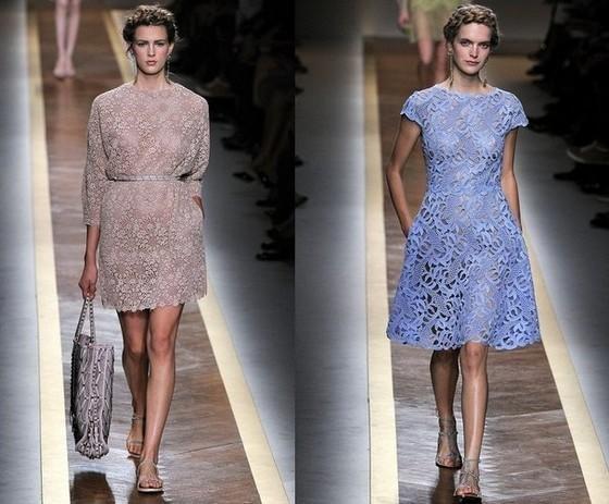 Повседневные кружевные платья