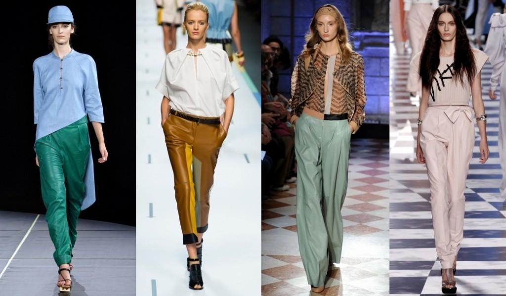 Декоративные элементы на брюках