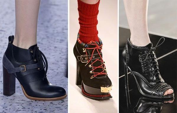 Туфли со шнуровкой 2016