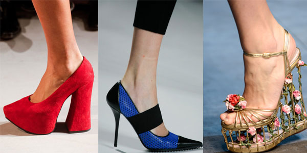 Модные туфли с острым носом 2016