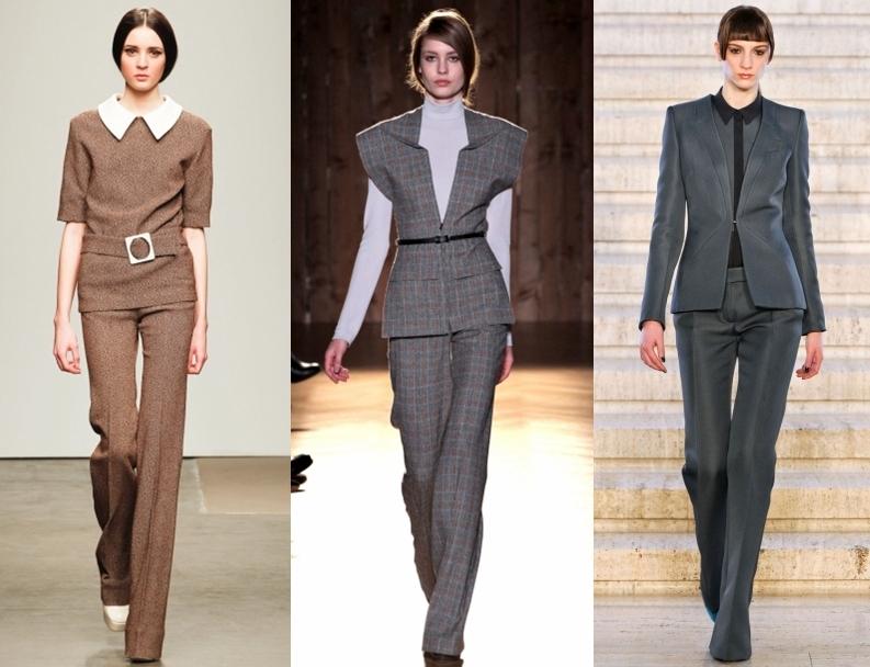 Модные женские костюмы осень-зима 2014-2015