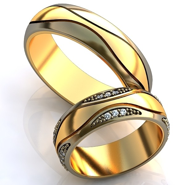 стильные обручальные кольца