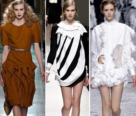 Декоративная отделка на платьях 2016