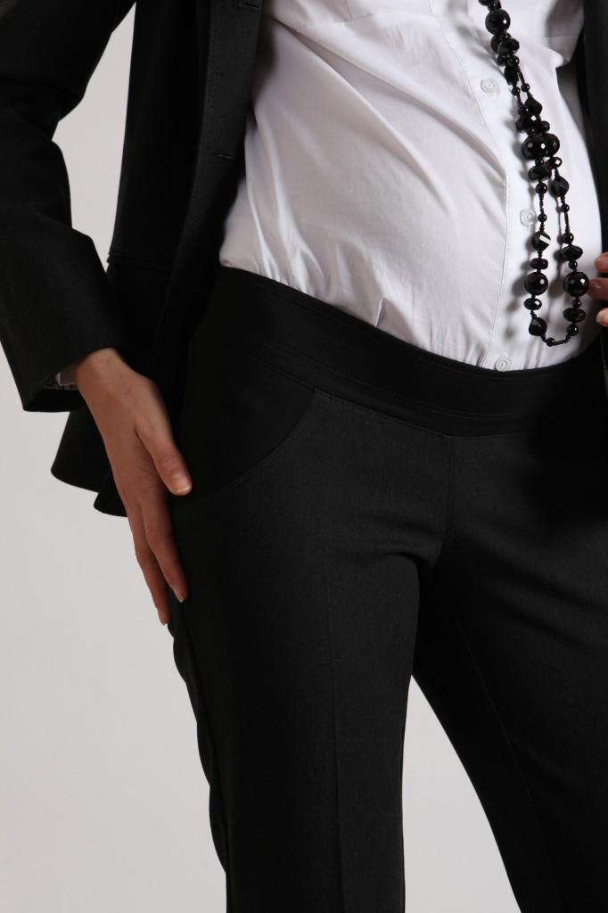 Деловая модная одежда для беременных