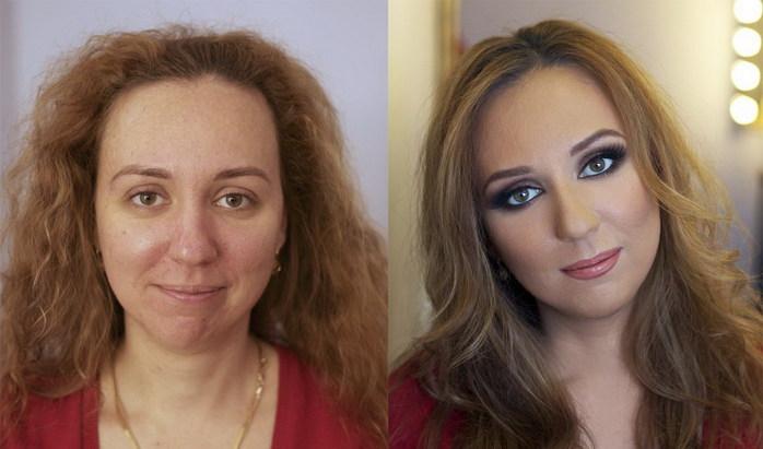 макияж для полного лица