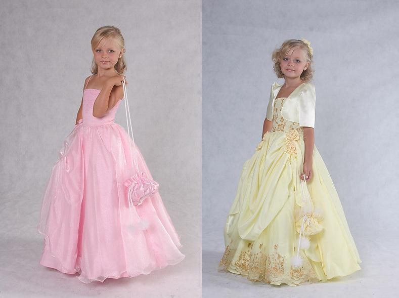 Детские платья 2016: цветовая гамма