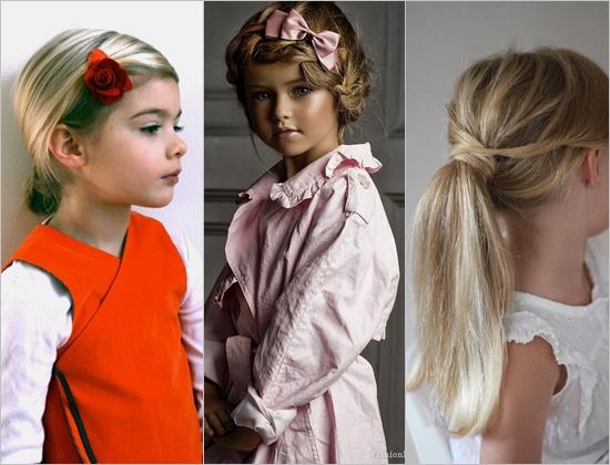 Прическа для девочки на 1 сентября на средние волосы