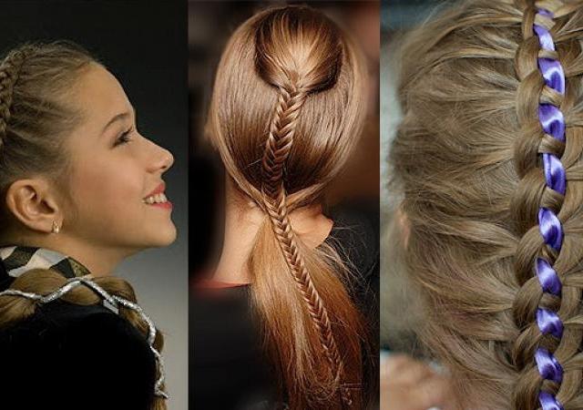 Какую причёску можно сделать на 1 сентября 7 класс