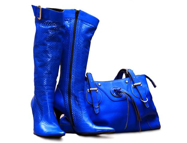с чем носить синие сапоги-3