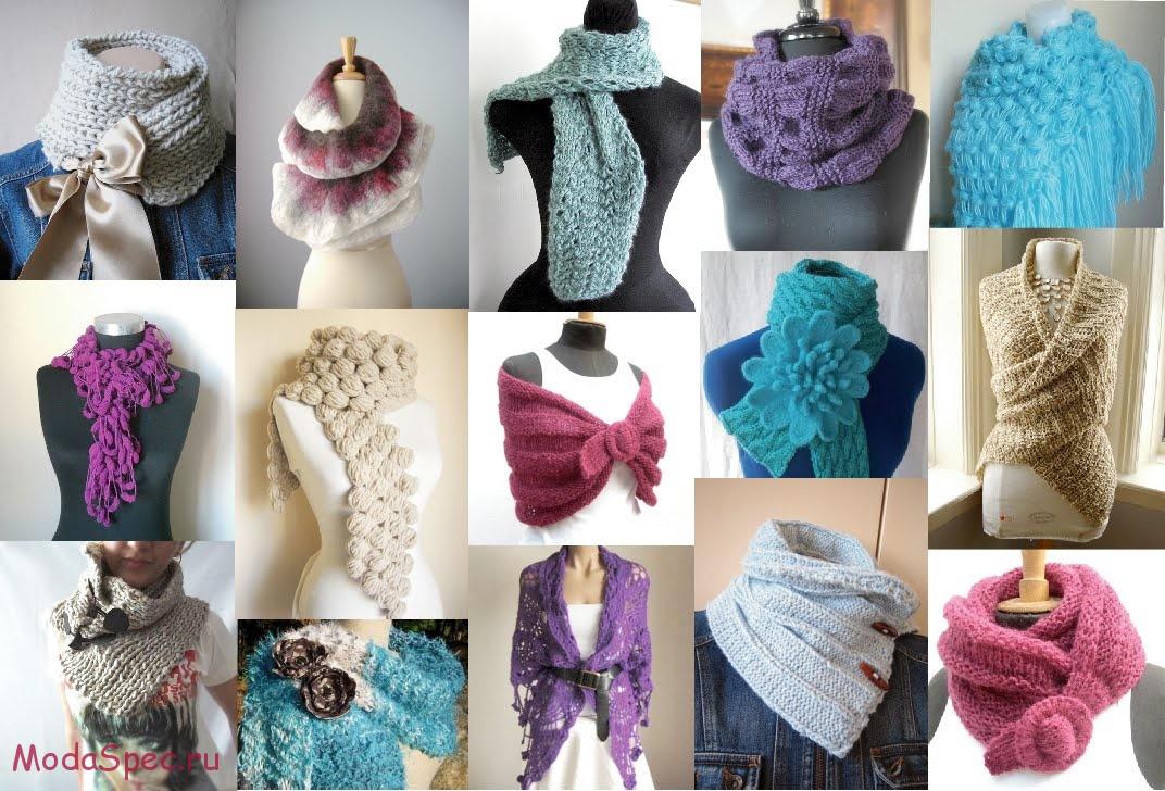 модные шарфы и платки осень 2015