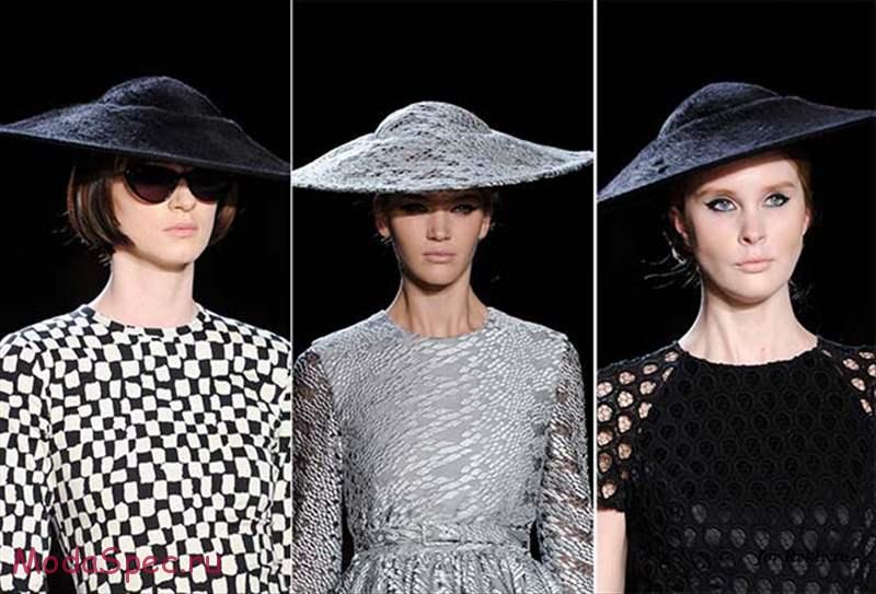 модные шляпки осень 2015