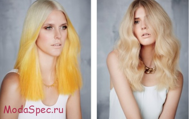модные светлые цвета (оттенки) волос 2017