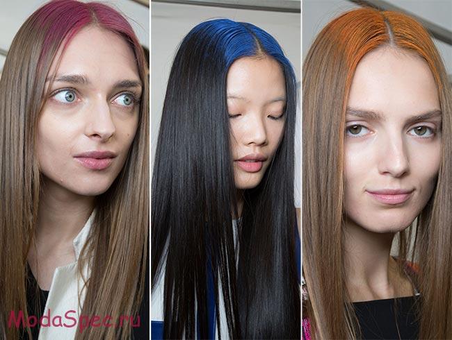 цвет волос 2017 (окрашивание), фото