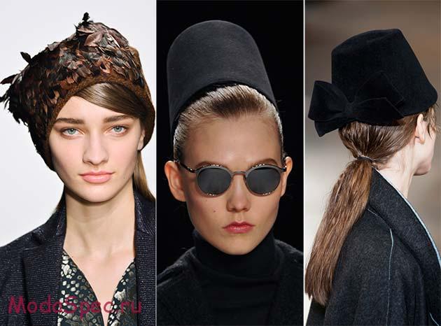 модные головные уборы сезона осень-зима 2015