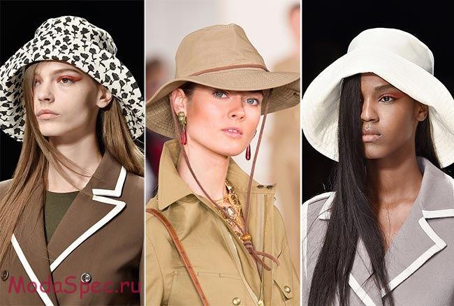 шляпки с полями