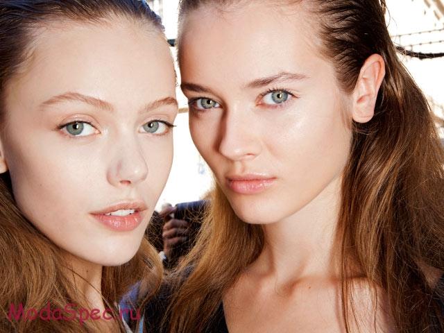 макияж nude осень 2015