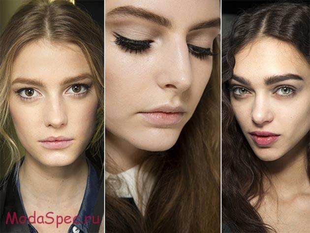 модный макияж сезона осень 2015