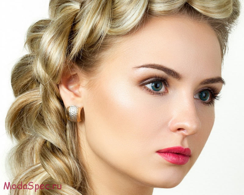 Виды макияжа глаз на светлые волосы
