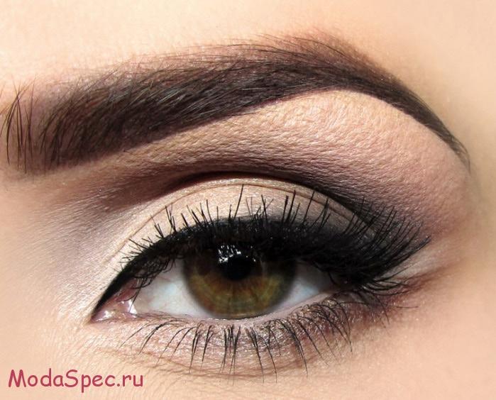современный макияж глаз фото