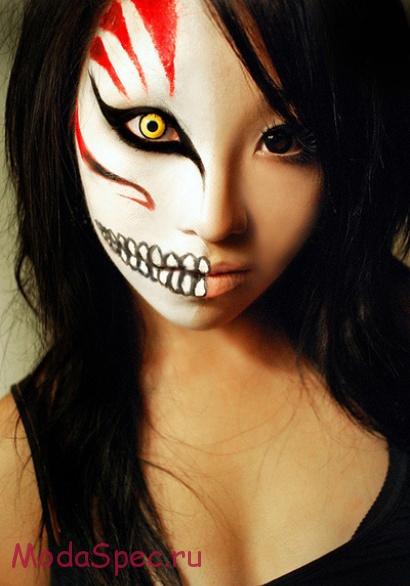 Макияж для Хэллоуина