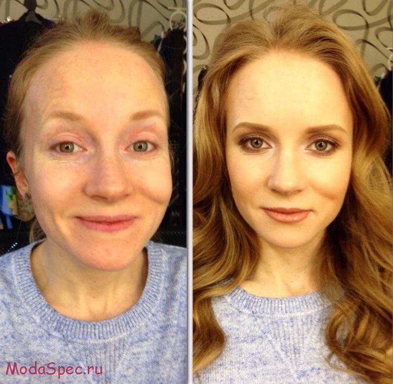 Как сделать лицо уже с помощью тонального крема